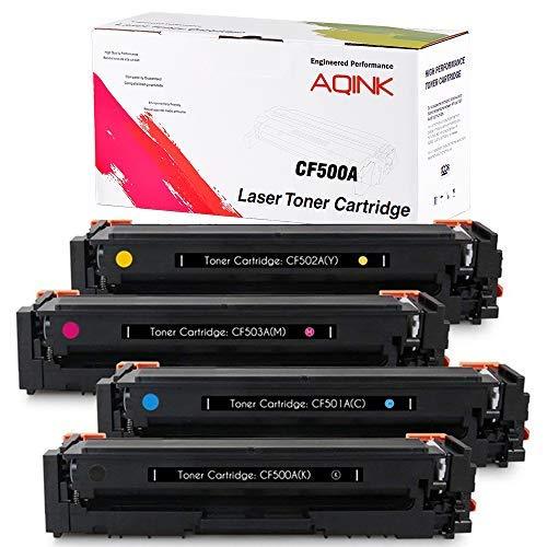Compatible 202A CF500A CF501A CF502A CF503A Toner Cartridge