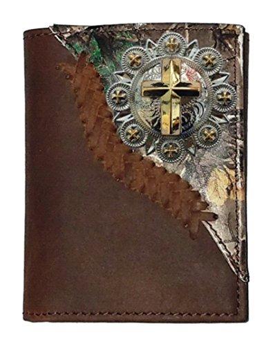 Cross Custom Gold Gold Realtree trifold Custom wallet AP q6TO6tR