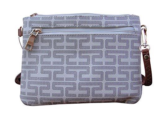 Purse Strap Cross Clutch Wrist amp; Strap Small Bag Mn83287beige Removable Trend by Messenger Elite Handbag body Woman dt7IwqInP