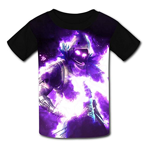 Kids T-Shirts Fortnite Raven Warrior Casual 3D Short Sleeve Cool Top Tees