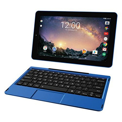 2018 Newest Premium High Performance RCA Galileo 11.5'' 2-in-1 Touchscreen Tablet PC Intel Quad-Core Processor 1GB RAM 32GB Hard Drive Webcam Wifi Bluetooth Android 6.0-Blue by RCA