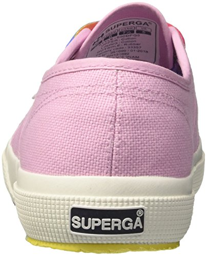 para Lavender 2750 Mujer Pink Superga Outsole Rosa Cotw Multicolors G30 Zapatillas ZwzqwSTR
