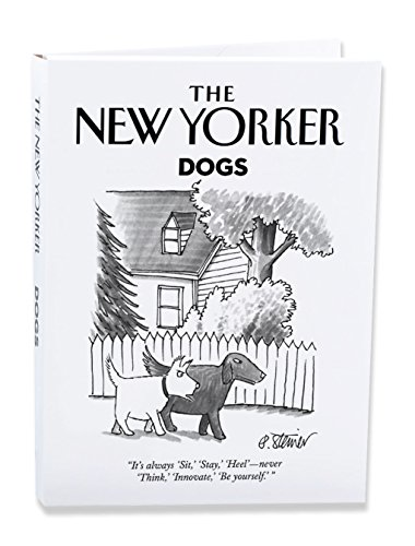 The New Yorker Dog Cartoons Notecard Wallet Pack of 10 Cards (NYNW06)