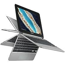ASUS Chromebook Flip C101PA-DS04 10.1inch Rockchip RK3399 Quad-Core Processor 2.0GHz,...