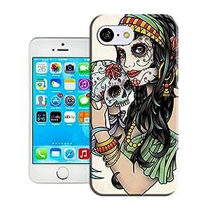 Amazing Hard Plastic iPhone 5c Case, Fate Inn-SetWidth487-sugar-skull_large (3)-iPhone 5c case