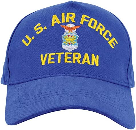 Medals of America US Air Force Veteran Royal Blue Hat One Size