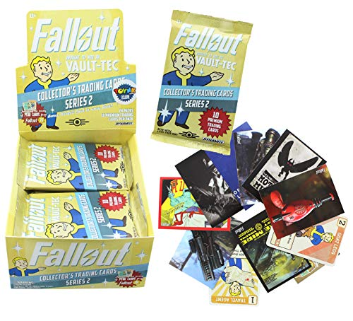Dynamite Entertainment Fallout Trading Card Game Series 2 Collectible Cards | Sealed Blister Pack | Contains 10 Randomized Cards