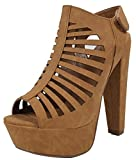 Soda Women's MVE Shoes Thick Heel Manji Comfortable Review and Comparison