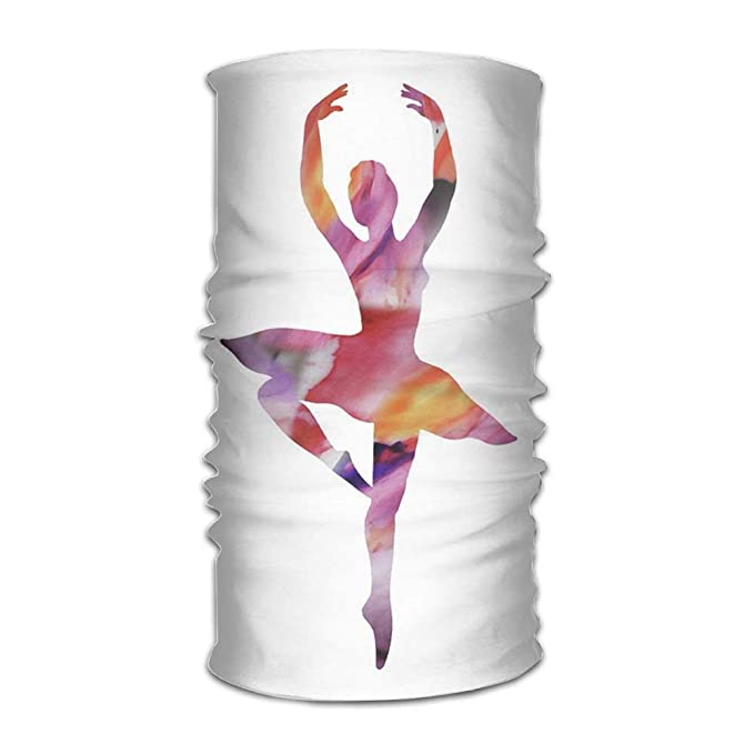 Pink Ballerina Girl Headwear For Men And Women-Yoga Sports ...