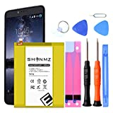 Z981 Battery,[Upgraded] 3800mAh Li-ion Replacement Battery for ZTE Grand X Max 2 Z988 Z983/ZMax Pro Li3934T44P8H876744 with Repair Tool Kits [36 Month Warranty]