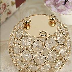 VINCIGANT Gold Decorative Candle Lantern/Tealight