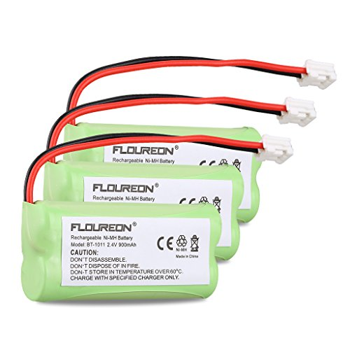 Floureon 3 Packs 2.4V 900mAh Rechargeabl - Portable Phone House Shopping Results
