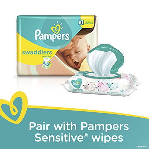 Pampers Swaddlers Disposable Diapers Size Newborn 120