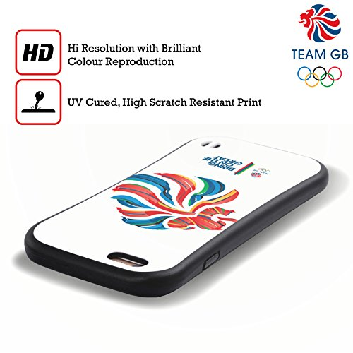 Official Team GB British Olympic Association Bahia Lion Rio Hybrid Case for Apple iPhone 6 / 6s
