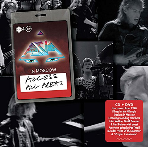 Asia Live In Moscow (Asia Live Cd)