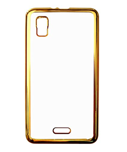 best authentic 3491d 7e9eb Back Cover for Micromax A102 Canvas Doodle 3 - Golden: Amazon.in ...