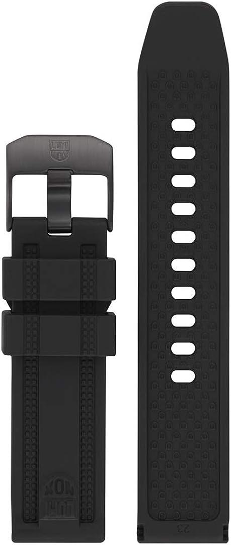 Luminox Men's ANU Series Black Rubber Watch Band