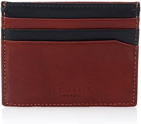Ted Baker Men's Pincone Contrast Leather Card Holder