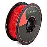 Terrafilum Stratosfilum 0.5Kg Spool PLA 1.75mm Red, Pack of 1
