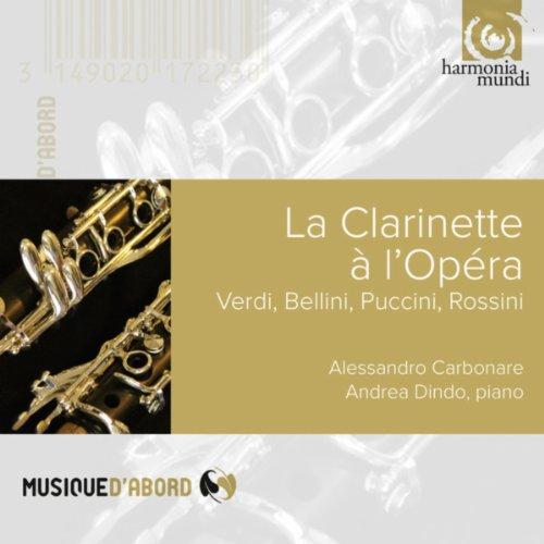 Rigoletto Fantasia Di Concerto Pour Clarinette Et Piano By