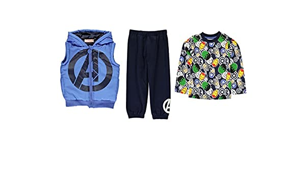 Avengers by Marvel - Chándal - chaqueta guateada - para niño azul ...