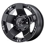 KMC XS775 Rockstar I ATV Wheel - Satin Black [15x7] +0mm 4x137