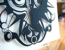 Legend of Zelda Majora\'s Mask - hand cut paper art