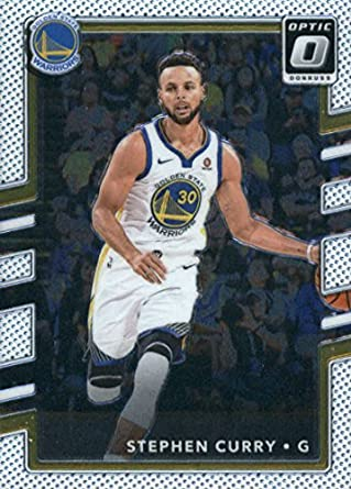 new product eb3d9 60b30 Amazon.com: 2017-18 Donruss Optic #46 Stephen Curry Golden ...