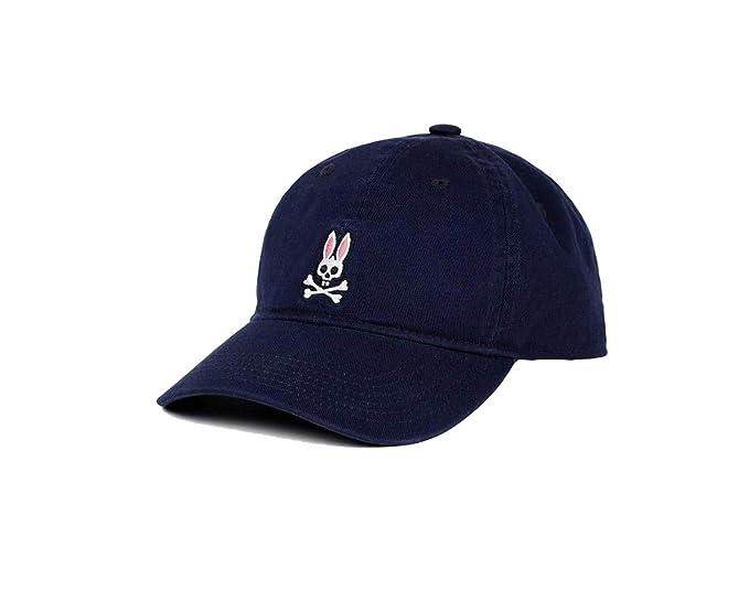 43f548bbb6c Amazon.com: Psycho Bunny Mens Baseball Cap Ultra Marine: Sports & Outdoors