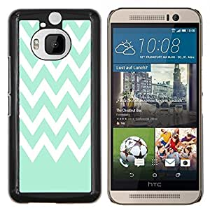 Dragon Case - FOR HTC One M9+ / M9 PLUS - Live quietly - Caja protectora de pl??stico duro de la cubierta Dise?¡Ào Slim Fit