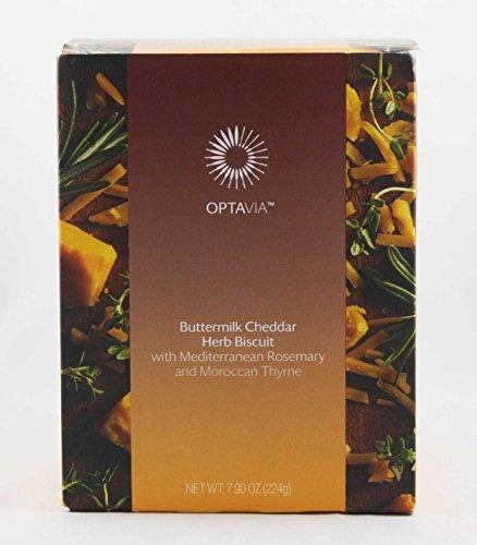Optavia Buttermilk Cheddar Herb Biscuit w/Mediterranean Rosemary & Moroccan Thyme - 7 Servings ()