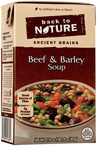 Back to Nature Soup – Beef and Barley – 17.4 oz