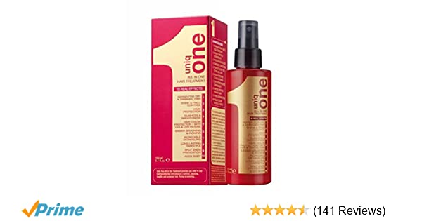 102ed40d7aa Amazon.com   Revlon Uniq One All in One Hair Treatment (4 Pack) 5.1 oz    Beauty