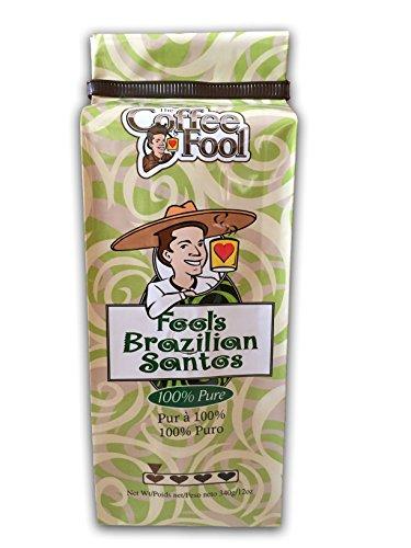 The Coffee Fool Fool's Brazilian Santos, French Press, 0.78 Ounce