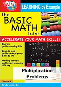 Basic Math Tutor: Multiplication Problems