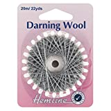 Hemline Darning Wool 20 Metres Shade Grey