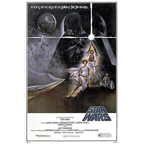 Grupo Erik Editores Poster Star Wars La Guerra De Las Galaxias Cartel