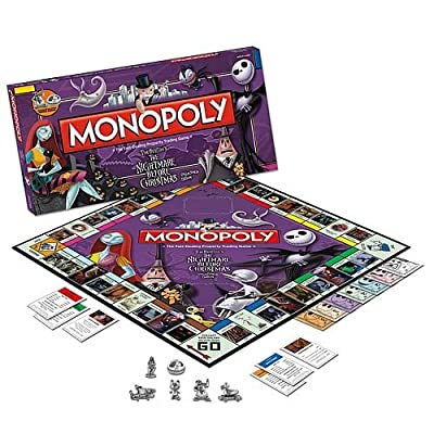 Monopoly The Nightmare Before Xmas by USAOPOLY, Inc