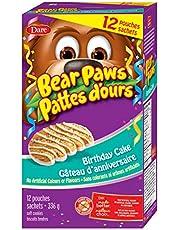 Bear Paws Birthday Cake, 336 g, x 12 Pouches