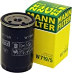 MANN-FILTER W 719/5 Oil Filter for VW...