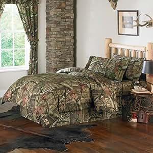 Amazon Com Mossy Oak Break Up Infinity Comforter Bed