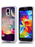 S5 Case Bumper Ultra Slim TPU Cover for Samsung Galaxy S5 And in That Moment I Swear We were Infinite