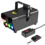 Fog Machine With LED Lights Baisun 400W Wireless Remote Control Smoke Machine For Wedding Christmas Halloween Birthday Party