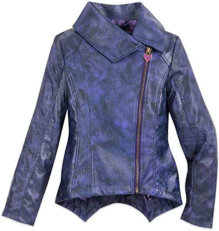 size 40 select for clearance strong packing Disney Mal Faux Leather Moto Jacket for Girls - Descendants ...