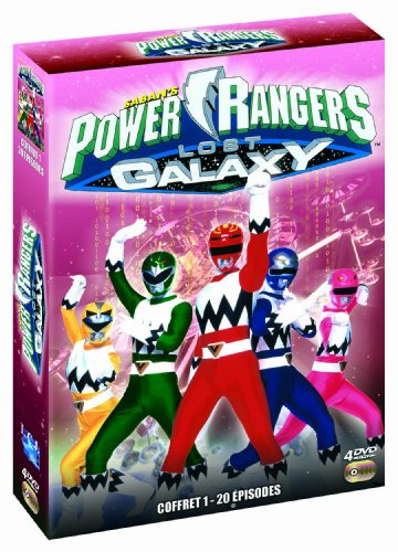 Rangers Galaxy Power (Power Rangers : Lost Galaxy - Coffret 1)