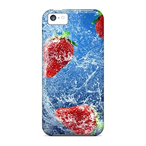 Premium Strawberries In Water Heavy-duty Protection Case For Iphone 5c