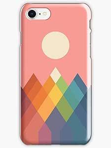 Rainbow Peak Phone Case for iPhone 8