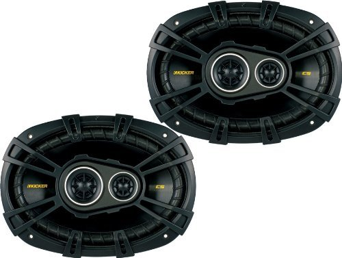 Kicker 40CS6934 6x9 inch 3-Way Speakers ()