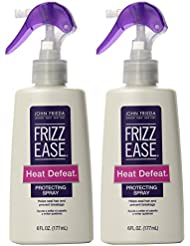 John Frieda Frizz Ease Heat Defeat Protective Styling Spray 6 oz (2 Pack)