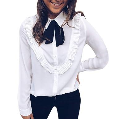 BBsmile Ropa Mujer-Camisas Mujer Trabajo de Oficina Elegantes ...